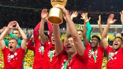 Copa de Alemania: Bayern goleó al Leipzig y firmó el 'doblete'