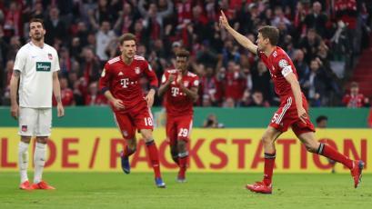 Copa de Alemania: Bayern Múnich sufre para eliminar al Heidenheim (5-4)