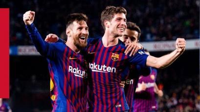 Copa del Rey: Barcelona goleó al Sevilla y se mete a las semifinales
