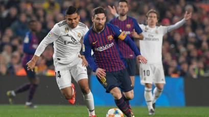 Copa del Rey: Barcelona y Real Madrid igualan en el Camp Nou (1-1)