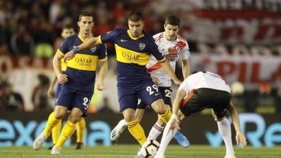 Copa Libertadores: Nicolás Capaldo erró un gol insólito en el River vs. Boca (VIDEO)