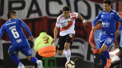 Copa Libertadores: River Plate no pudo en casa con Cruzeiro por los octavos de final (VIDEO)