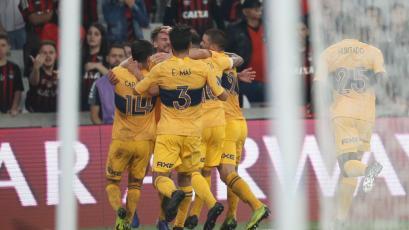 Copa Libertadores: Boca derrotó a Paranaense y sueña con los cuartos de final (VIDEO)