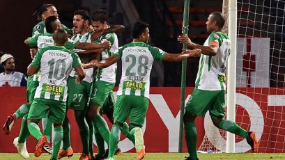 Copa Libertadores: Atlético Nacional se impone ante Bolívar (4-1)