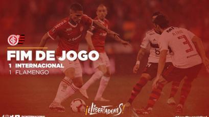 Copa Libertadores: Paolo Guerrero y el Inter fueron eliminados a manos del Flamengo (VIDEO)