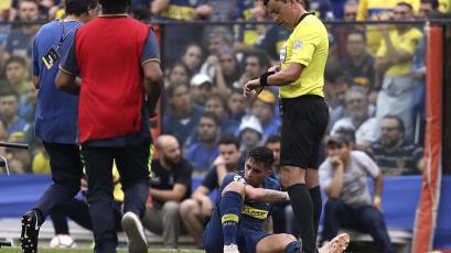 Copa Libertadores: Cristian Pavón es duda para la vuelta por lesión