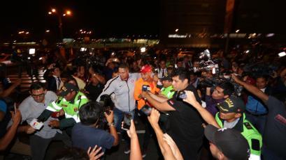Copa Libertadores: El recibimiento a Paolo Guerrero