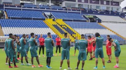 Copa Libertadores: Barcelona entrenó en Matute esperando el duelo con Sporting Cristal