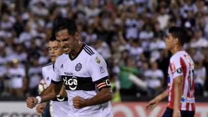 Copa Libertadores: Olimpia venció a Junior con solitario gol de Roque Santa Cruz