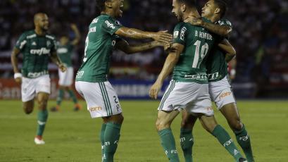 Copa Libertadores: Palmeiras goleó a Junior en Barranquilla