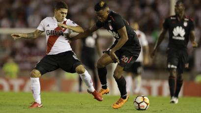 Copa Libertadores: River Plate no pasó del empate frente a Independiente Santa Fe