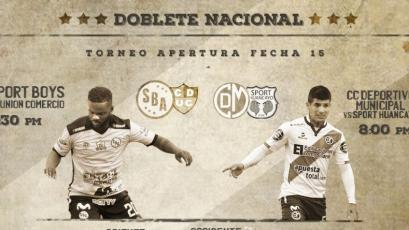Copa Movistar: Deportivo Municipal y Sport Boys reviven el 'doblete' este sábado