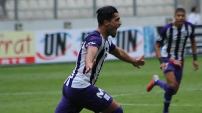 Torneo Clausura: Maximiliano Lemos es el goleador de Alianza Lima