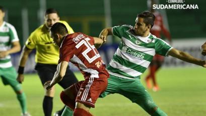Copa Sudamericana: Royal Pari de Roberto Mosquera perdió el invicto de local
