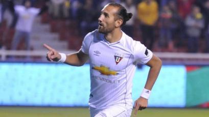 Copa Sudamericana: Hernán Barcos se convierte en el goleador histórico