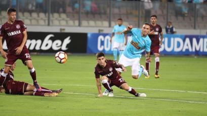 Copa Sudamericana: Sporting Cristal venció a Lanús pero quedó fuera de la competencia
