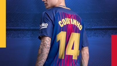Barcelona hizo oficial el dorsal que usará Coutinho