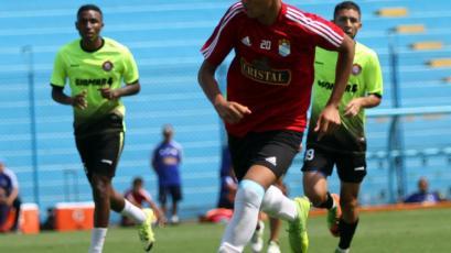 Sporting Cristal goleó a Unión Huaral en encuentro amistoso