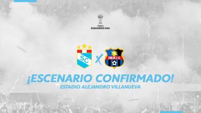 Copa Sudamericana: Sporting Cristal será local en Matute ante Zulia