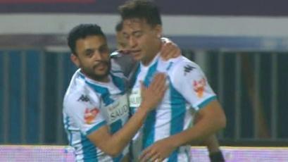Cristian Benavente marcó un doblete en triunfazo del Pyramids FC (VIDEO)