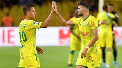 Nantes: Cristian Benavente jugó como titular por primera vez, pero su equipo perdió 1-0 (VIDEO)