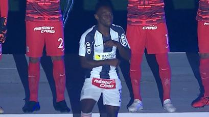 Noche Blanquiazul: colombiano Cristian Zuñiga bailó en su presentación con Alianza Lima (VIDEO)