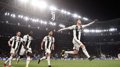 Juventus eliminó a Atlético de Madrid con hat trick de Cristiano Ronaldo