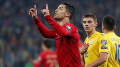 Ucrania vs Portugal: Cristiano Ronaldo anotó su gol 700 en dieciocho años de carrera (VIDEO)