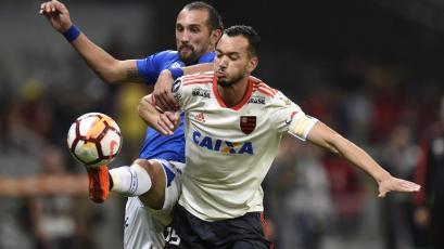 Cruzeiro avanza a los cuartos de final a costa de Flamengo
