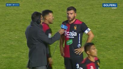 Bernardo Cuesta tras golear a Ayacucho FC:
