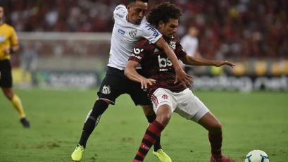 Christian Cueva reapareció con el Santos luego de casi 4 meses