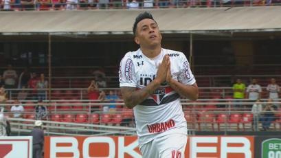 Christian Cueva respondió tras fallar un penal con Sao Paulo