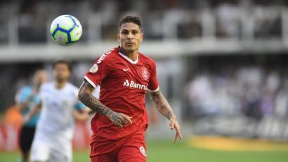 Christian Cueva y Paolo Guerrero empataron en el duelo entre Santos e Inter