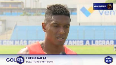 """Luis Peralta: """"El equipo ya se está acomodando y encontrado una identidad de juego"""""""