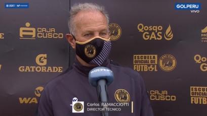 """Carlos Ramacciotti: """"Le hemos ganado a un equipo que siempre juega bien"""" (VIDEO)"""