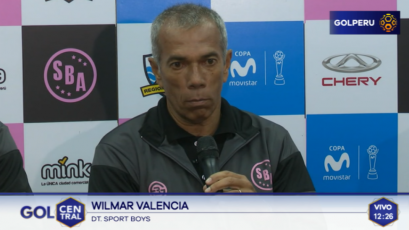 """Wilmar Valencia: """"Hay que valorar el punto ante Sporting Cristal"""""""