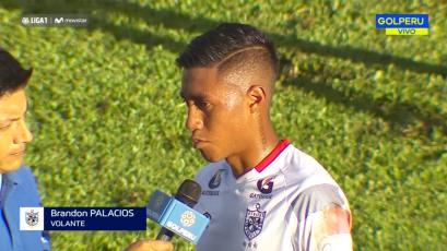 """Brandon Palacios: """"Nos falta más efectividad en el último tramo"""""""