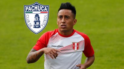 Christian Cueva estaría a un paso de fichar por el Pachuca de la Liga MX