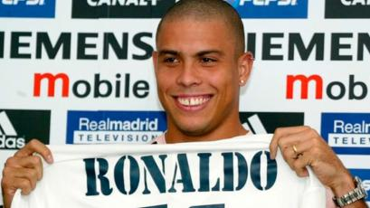 Real Madrid: a 18 años de la presentación de Ronaldo Nazario, el 'Fenómeno' (VIDEO)
