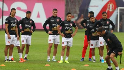 Selección Peruana Sub 23 continúa su preparación para medirse ante Colombia