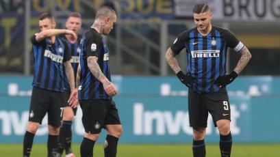 Inter cae ante Bologna y suma su cuarto partido sin victorias
