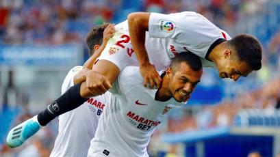 Sevilla toma la punta en España tras imponerse como visitante sobre el Alavés