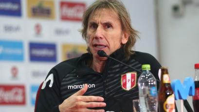 """Ricardo Gareca: """"Solo pensamos en ganar. Enfrentaremos a una selección muy difícil"""""""
