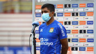 """Ronal Huaccha: """"Prácticamente teníamos el partido ganado"""" (VIDEO)"""