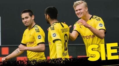 Bundesliga: Borussia Dortmund goleó por 4-0 al Schalke 04 en el Derbi del Ruhr (VIDEO)