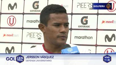 """Jersson Vásquez: """"Volver al triunfo es un paso importante para escalar posiciones"""""""