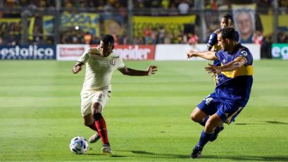 Universitario de Deportes cayó por 2-0 ante Boca Juniors en partido amistoso