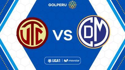 Liga1 Movistar: UTC enfrenta a un animoso Deportivo Municipal