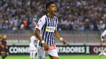 Copa Libertadores: José Manzaneda marcó el primer gol de Alianza Lima en el torneo