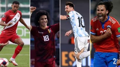 Eliminatorias Sudamericanas: así se cerró la fecha 5 del torneo clasificatorio a Qatar 2022